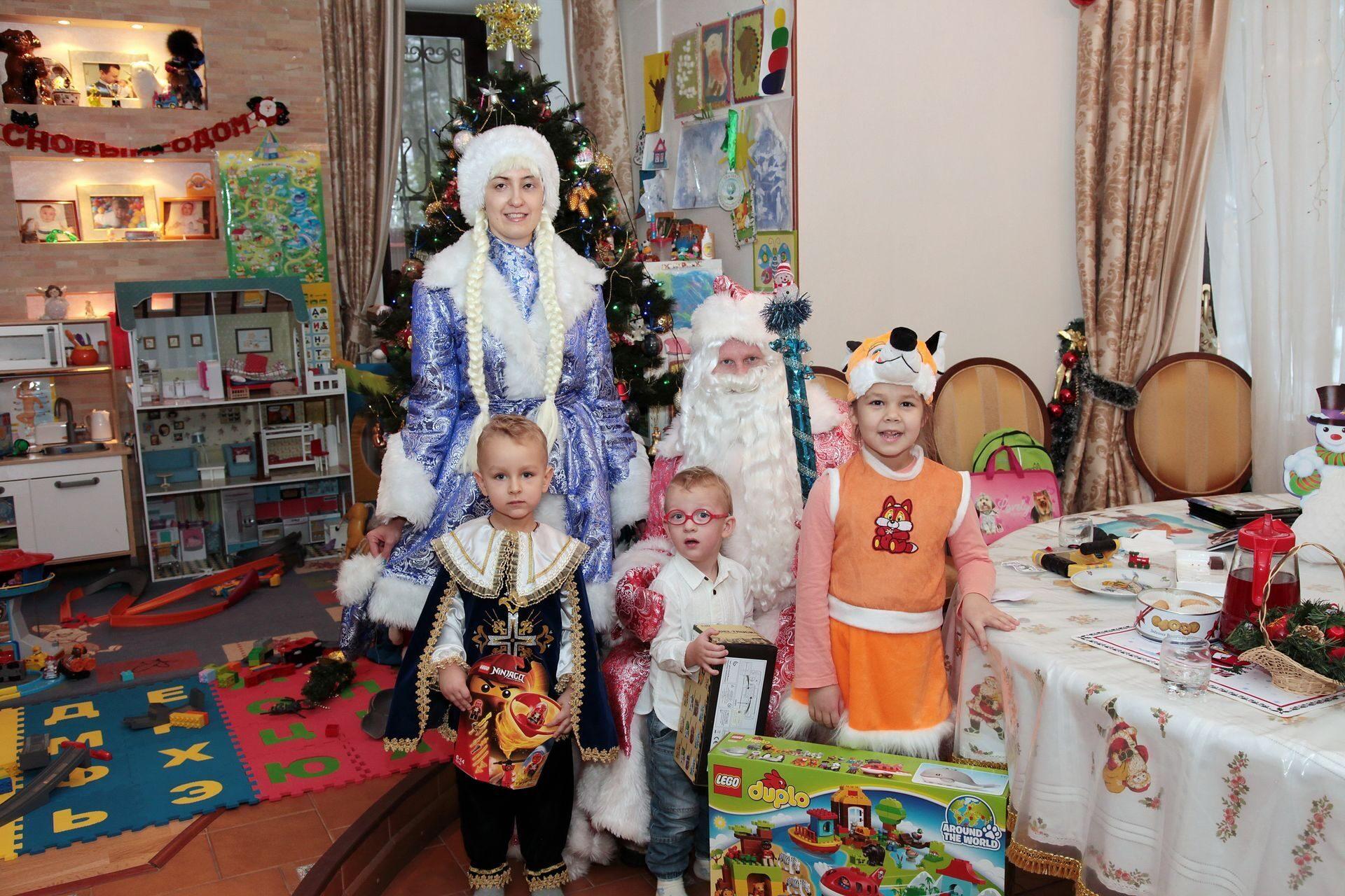 Московская усадьба Деда Мороза  Отдых с детьми  OSDRU